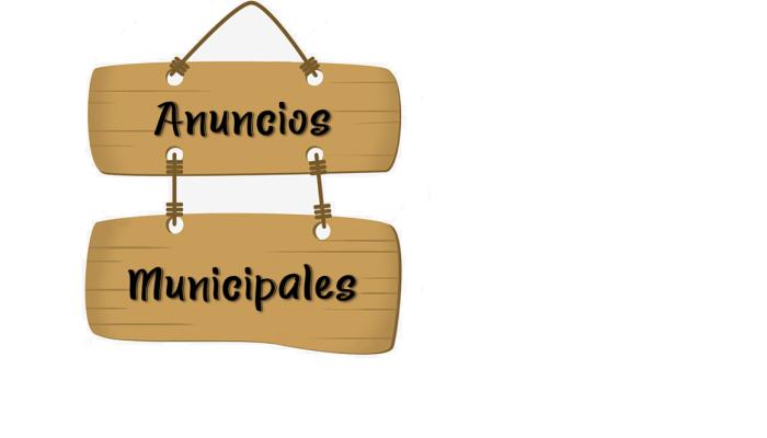 Anuncios Municipales