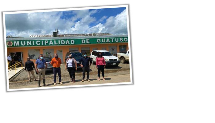 Presidente Alvarado visita Guatuso